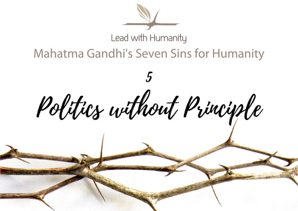 Politics without Principle