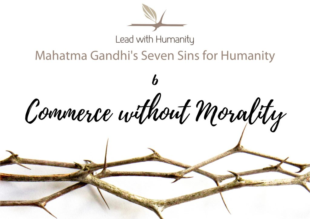 Commerce without Morality